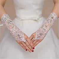 Перчатки для невесты свадебные