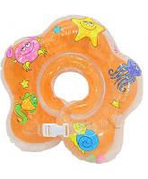 Надувной круг для купания (MS 0128), 4 цвета