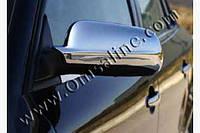 Накладки на зеркала Audi A6 C4 1994-1997 (2 шт. нерж.) Omsa