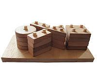 Конструктор деревянный детский (Игрушки)