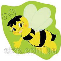 Крепление под магнит Пчелка на зеленом фоне