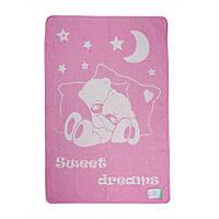 Плед-одеяло дет. Сони 100*140 17413 Vladi розовый