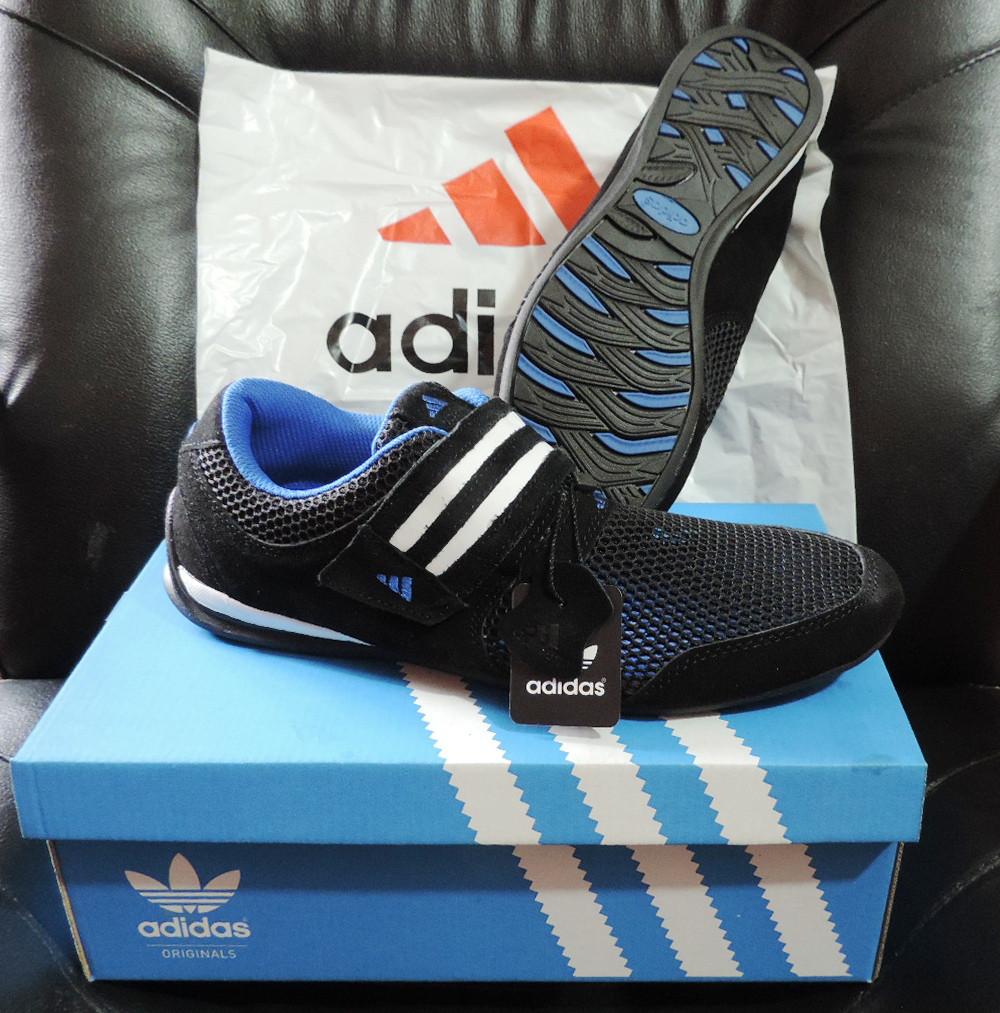 456e6da771be Кожаные мужские кроссовки Adidas Daroga. Летние кроссовки сетка, реплика -