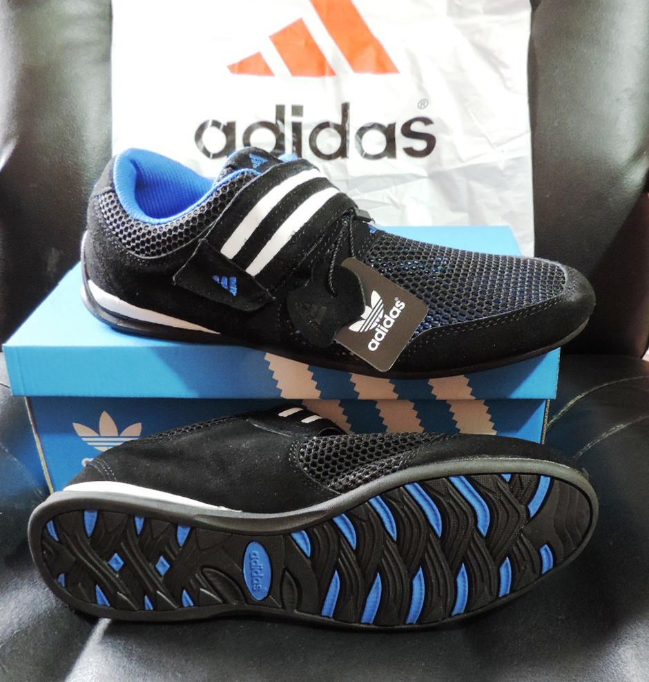 Кожаные мужские кроссовки Adidas Daroga. Летние кроссовки сетка, реплика,  ... 2eee0617c39