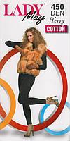 Гамаши женские махровые внутри х/б Lady May Terry Cotton 450 Den - 2, 3, 4 размер