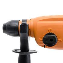 Перфоратор STORM 820 Вт, 4 режима, 0-2200 об/мин, 0-5510 уд/мин (WT-0154 Intertool), фото 2