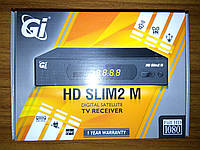 Спутниковый тюнер. Спутниковый ресивер GI HD Slim 2M