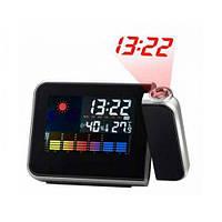 Часы метеостанция с проектором времени 8190 Акция!