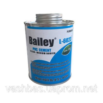 Bailey Клей для труб ПВХ Bailey L-6023  473мл