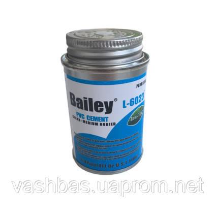 Bailey Клей для труб ПВХ Bailey L-6023  118мл