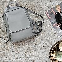 Рюкзак мини женский из натуральной кожи, фото 1