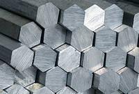 Шестигранник алюминиевый Д16Тдиаметром 17 мм