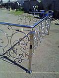 Перила из нержавеющей стали, фото 4