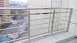 Перила из нержавеющей стали, фото 5