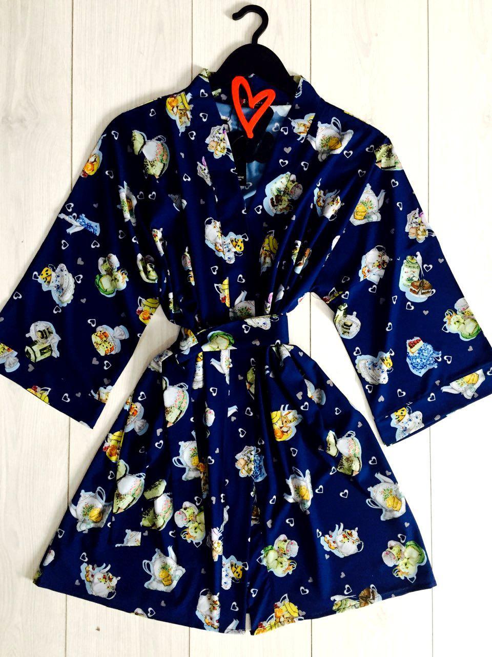 Женский модный халат для дома