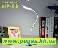 Настольная лампа (ночник) светодиодная аккумуляторная Hi-tech 100 (прищепка)