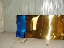 Лист нержавіючий з покриттям під золото