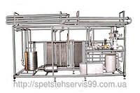 Пастеризационно-охладительная установка ОП2-У15 для пастеризации пищевых продуктов в потоке, фото 1