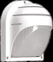 Светильник НПП2501 белый ресничка 60Вт IP54 IEK