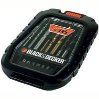 Набор Black&Decker A7186 биты, сверла 16 предметов