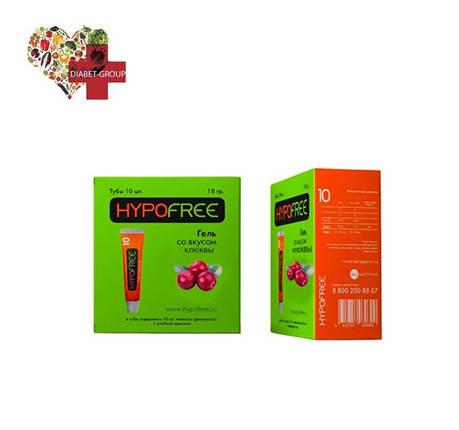 ГипоФри Клюквенный вкус (HYPOFREE) гель 1ХЕ, фото 2