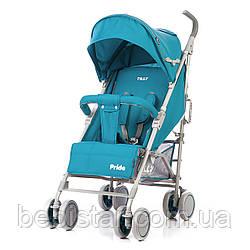 Детская прогулочная коляска TILLY Pride T-1412 Blue
