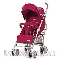 Детская прогулочная коляска TILLY Pride T-1412 Crimson