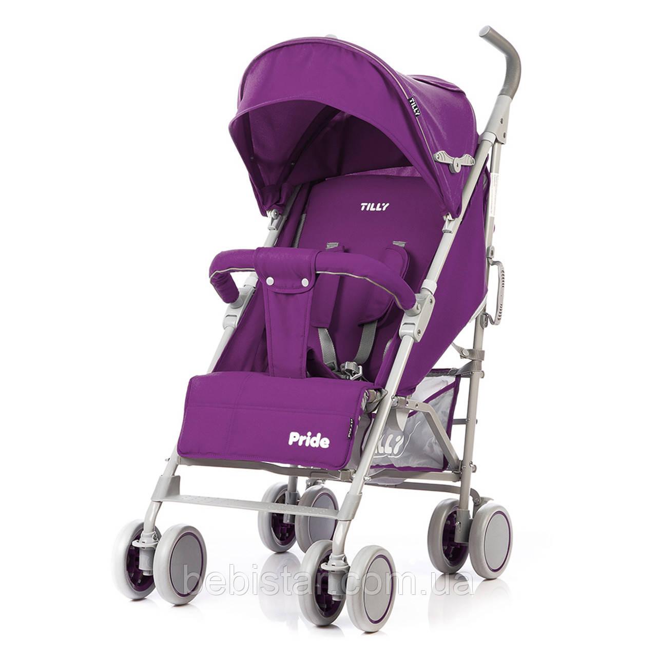 Детская прогулочная коляска TILLY Pride T-1412 Purple
