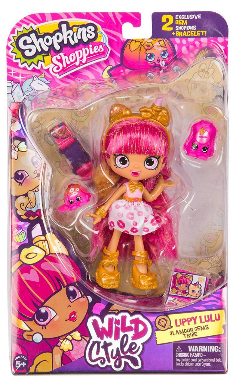 Кукла Шопкинс Лулу Липпи S9 Shopkins Wild Style Shoppies - Lippy Lulu оригинал
