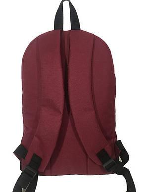 Рюкзак спортивньій R-09-04 VANS 600D бордо, фото 2