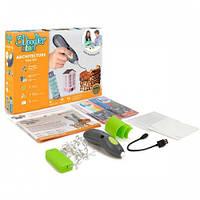 3D-ручка 3Doodler Start для детского творчества - АРХИТЕКТОР 96 стержней, шаблон, аксессуары 3DS-ARCP-COM