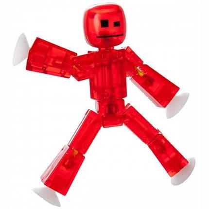 Фигурка красная для анимационного творчества Stikbot S1 TST616R, фото 2
