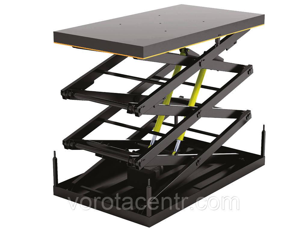 Стол подъемный с тремя парами ножниц DoorHan серии 3LT