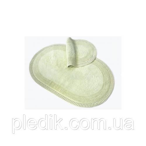 Набор ковриков для ванной хлопок 60х90, 40х60 см. IRYA LAVERNE YESIL