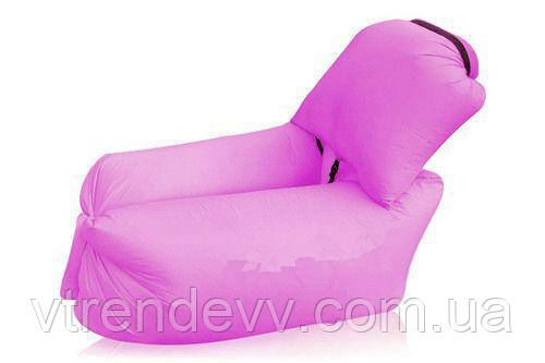 Ламзак надувной диван Lamzac с подушкой