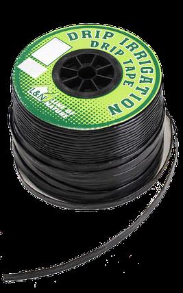 "Капельная лента с плоским эмиттером ""L&N"" (раст.между эмиттерами 10 см) 250 м -0,8L, фото 2"