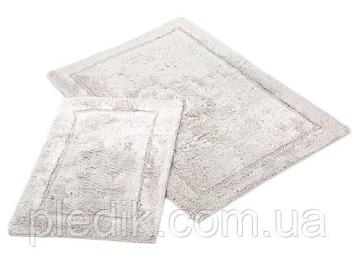 Набор ковриков для ванной хлопок 60х90, 40х60 см. IRYA GLORIA GRI серый
