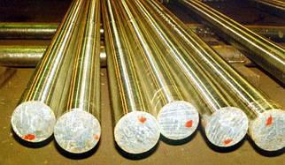Пруток бронзовый ОЦС555 диаметром 25 мм