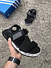 Мужские кроссовки Adidas Y-3 Yohji Yamamoto Black White (реплика), фото 4