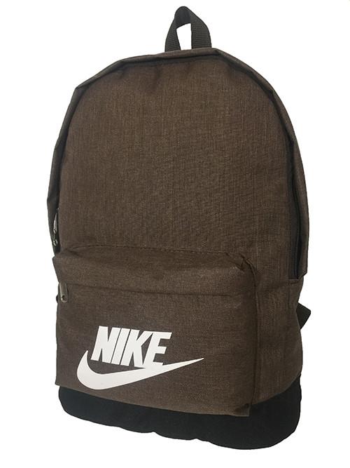Рюкзак спортивньій R-09-97 NIKE катен коричневий