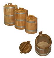 Первое использование дубовых Кадок для соления.