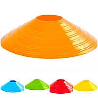 Фишки спортивные плоские (футбольные) диаметр 20 см разного цвета, фото 1
