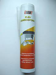 Клей огнеупорный GEB Collafeu для фиксации уплотнительного шнура котлов, каминов, печей