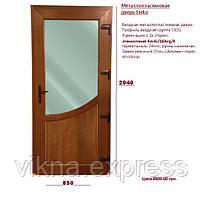Металлопластиковая входная дверь StekoS300