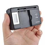 Універсальне зарядне з дисплеєм і USB зарядкою YIBOYLIAN AG-08, фото 2