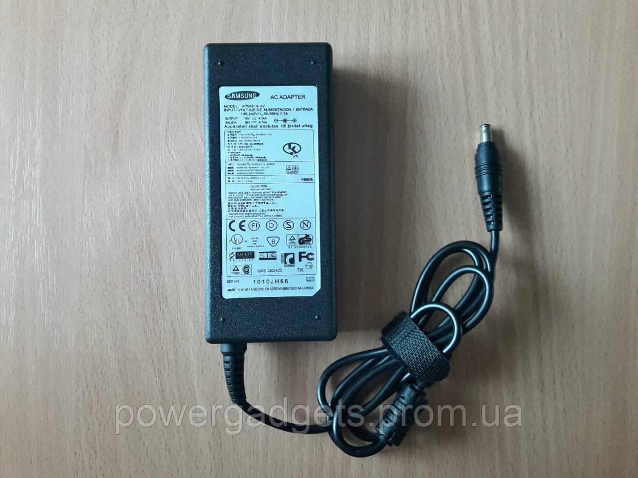 Блок питания для ноутбука Samsung 19V 4.74A 90W 5.5x3.0 мм