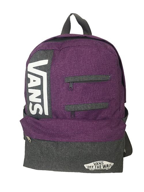 Рюкзак спортивньій R-79-01 VANS Фіолетовий - синій