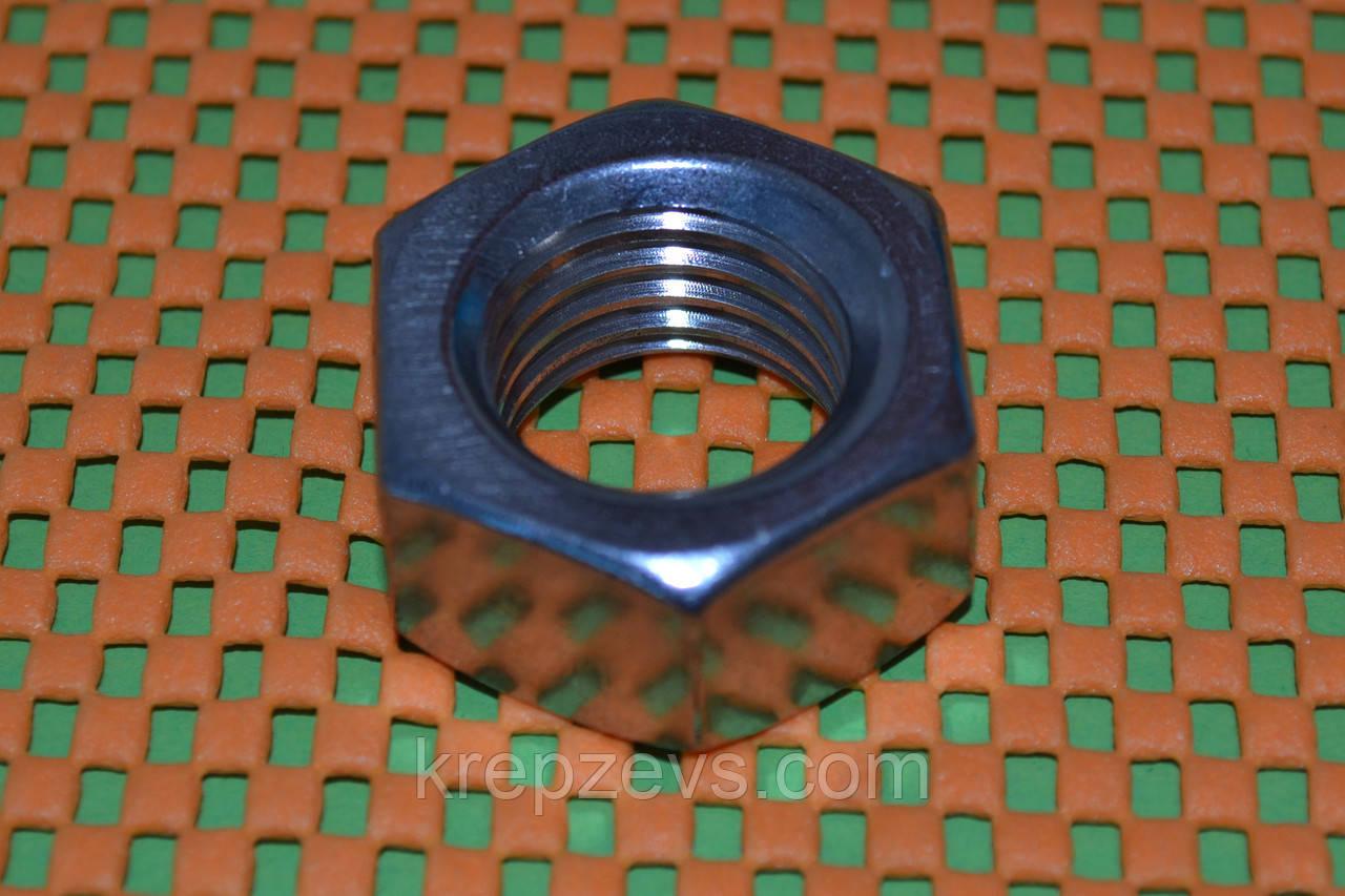 Гайка нержавеющая М24 ГОСТ 5915-70 А4 сталь
