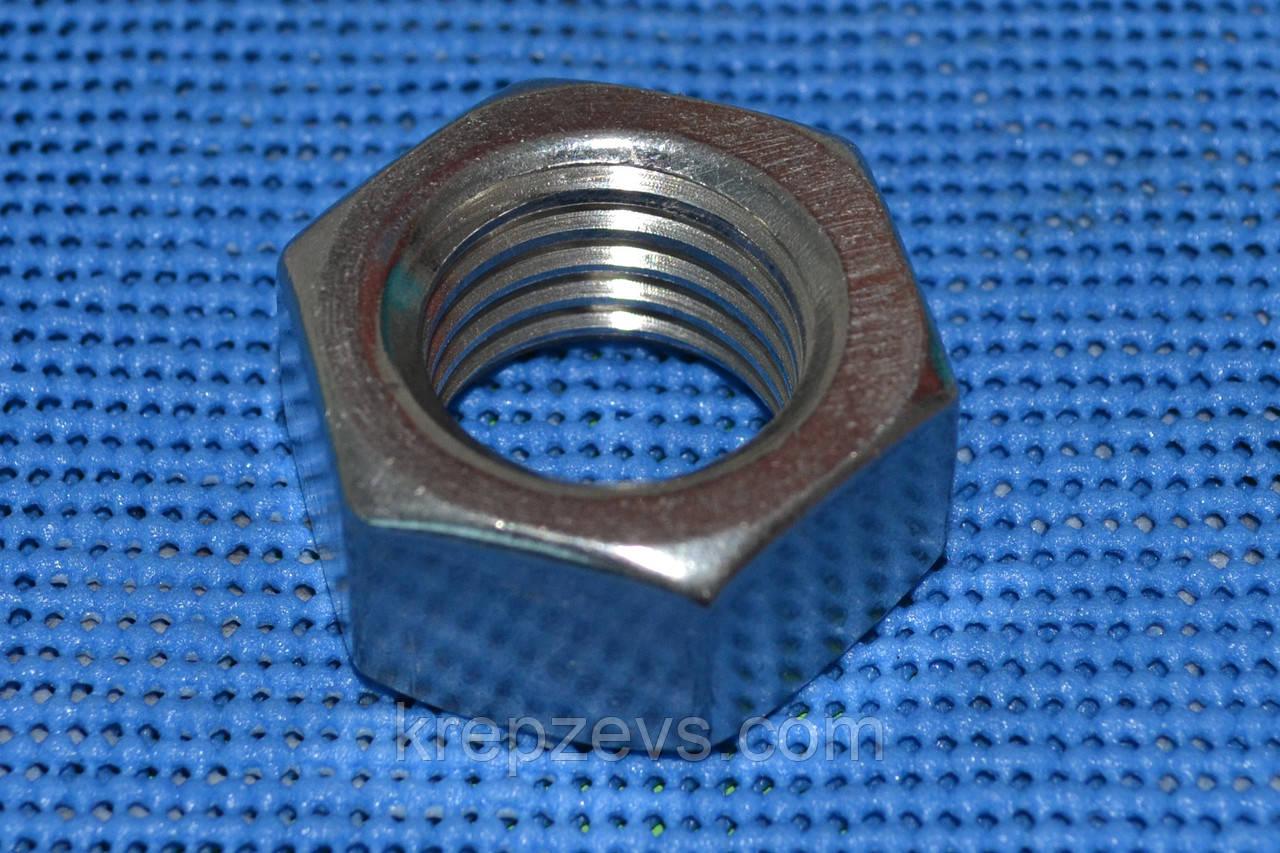 Гайка нержавеющая М30 ГОСТ 5915-70 А4 сталь