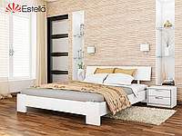 Дерев'яне ліжко Титан (білий), фото 1